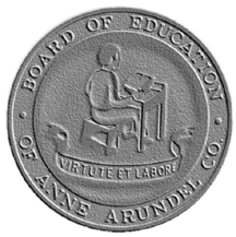 Board of Education of Anne Arundel Co Seal